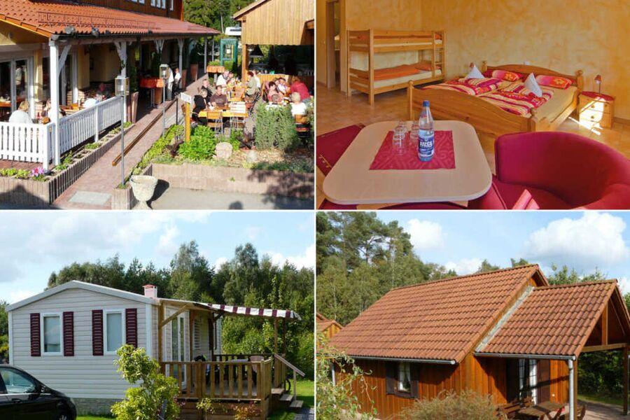 Campingplatz 'Auf dem Simpel', Ferienhaus für 4 Pe