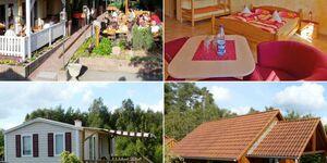 Campingplatz 'Auf dem Simpel', Ferienhaus für 4 Personen in Soltau - kleines Detailbild
