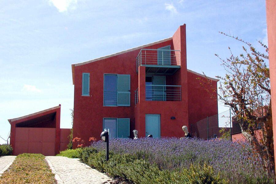 Modernes Familienhaus mit Meerblick