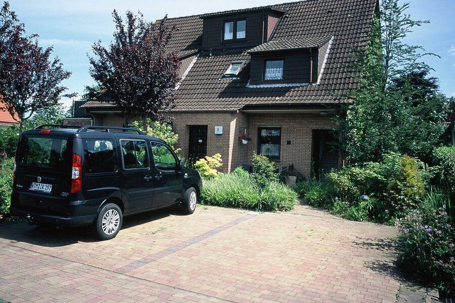 Parkplätze für Gäste direkt vor dem Haus