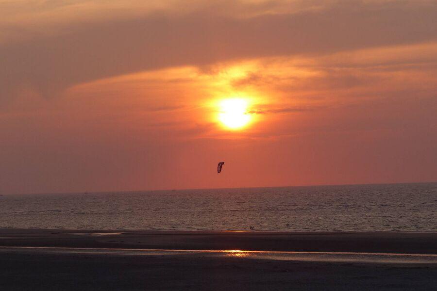 Sonnenuntergang auf Spiekeroog -