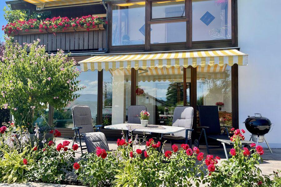 Fewo mit Terrasse und Wintergarten