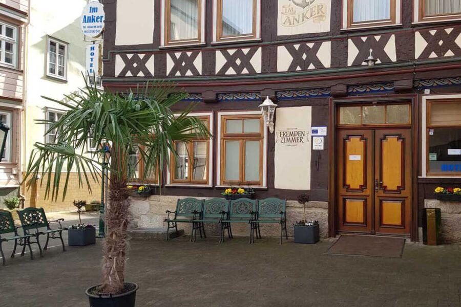 Hotel 'Im Anker', Vierbettzimmer (1 Doppelb., 2 Ei