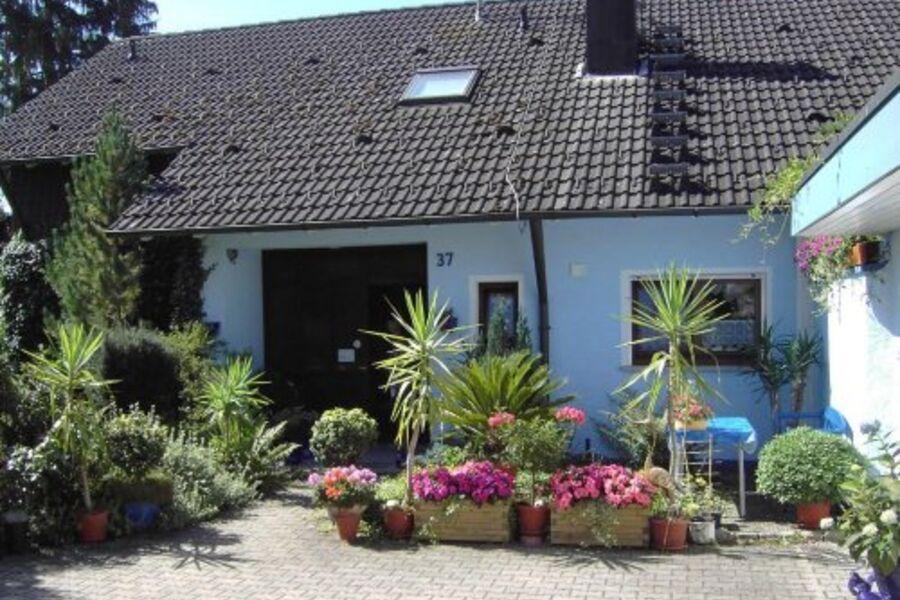 Unser Wohnhaus mit Ferienwohnung