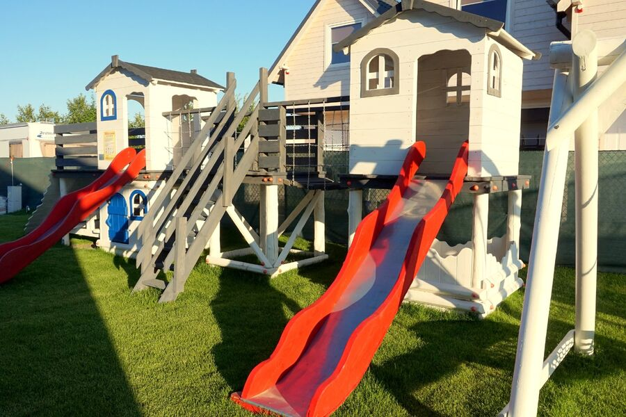 Winterstrand. Promenade.