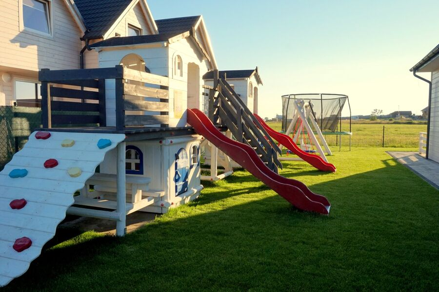 Dorf Sarbinowo.