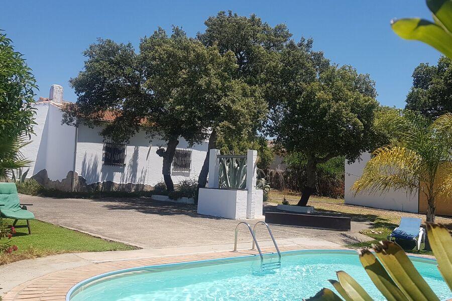 Pool mit 3000 qm Garten