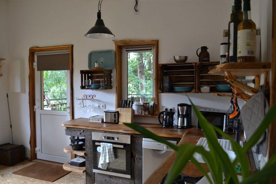 Vollholzküche aus Eiche
