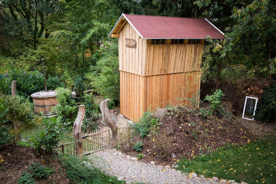 Sauna mit zweitem Schlafzimmer