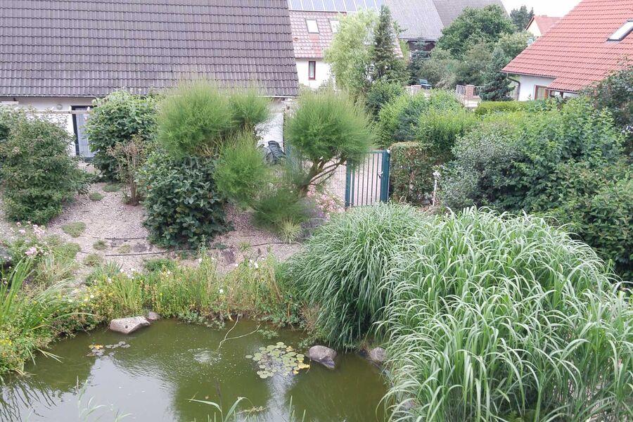 Ferienhaus mit Gartenanlage
