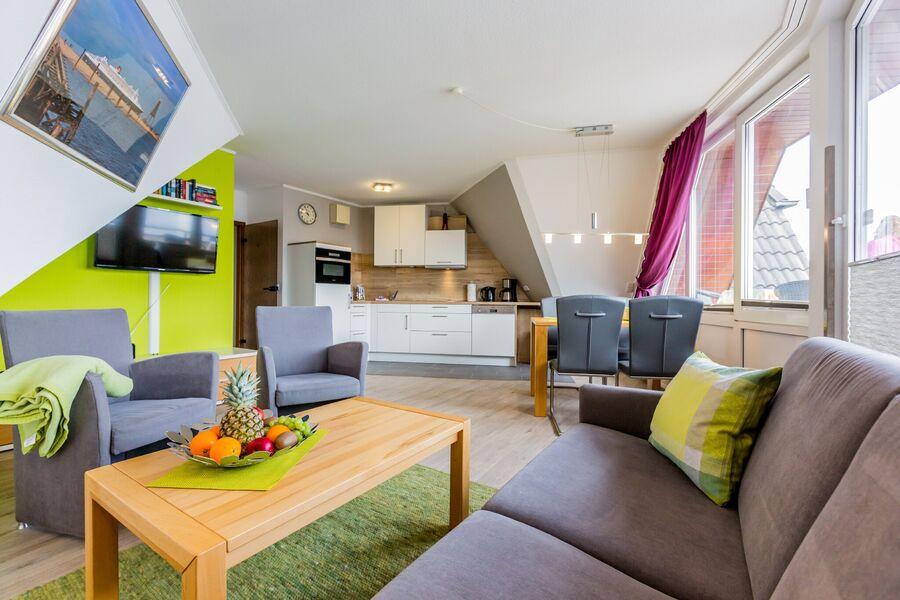 Modernes Wohnzimmer mit Hülsta Möbel