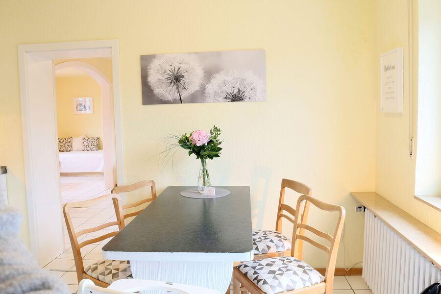 Wohnbereich Ferienwohnung 4