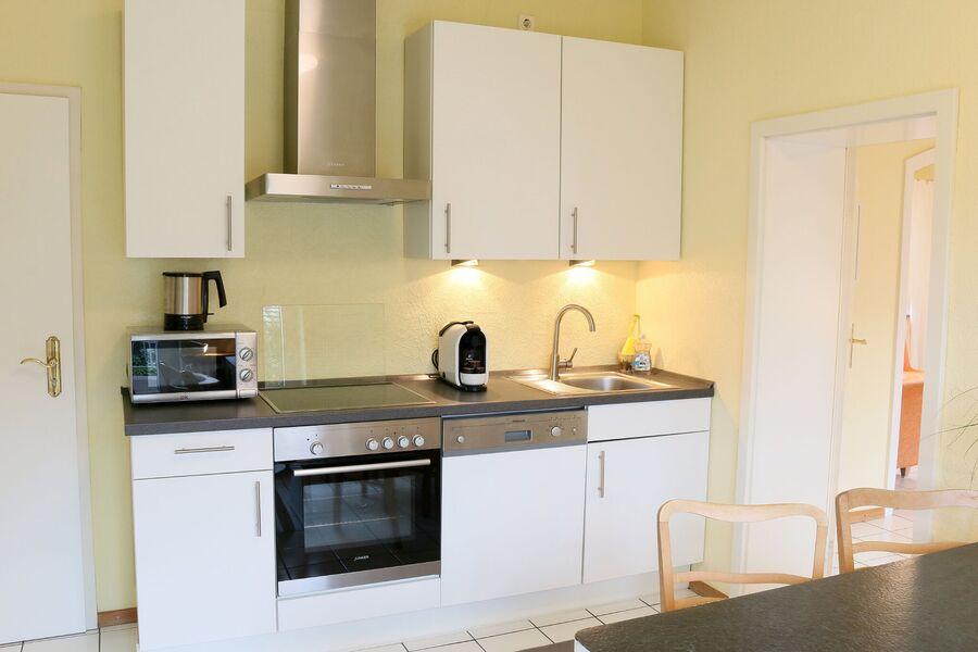 Große Wohnküche - Ferienwohnung 4