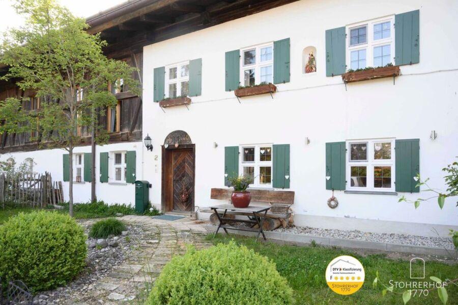Haupteingang Gut Stohrerhof