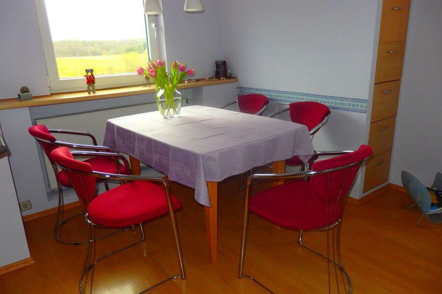 Sitzplatz in der gemütlichen Wohnküche