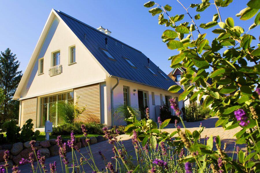 Außenansicht Doppelhaus Kamphof