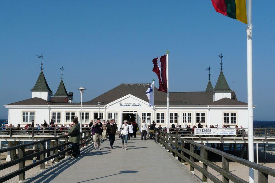 Die Ahlbecker Seebrücke