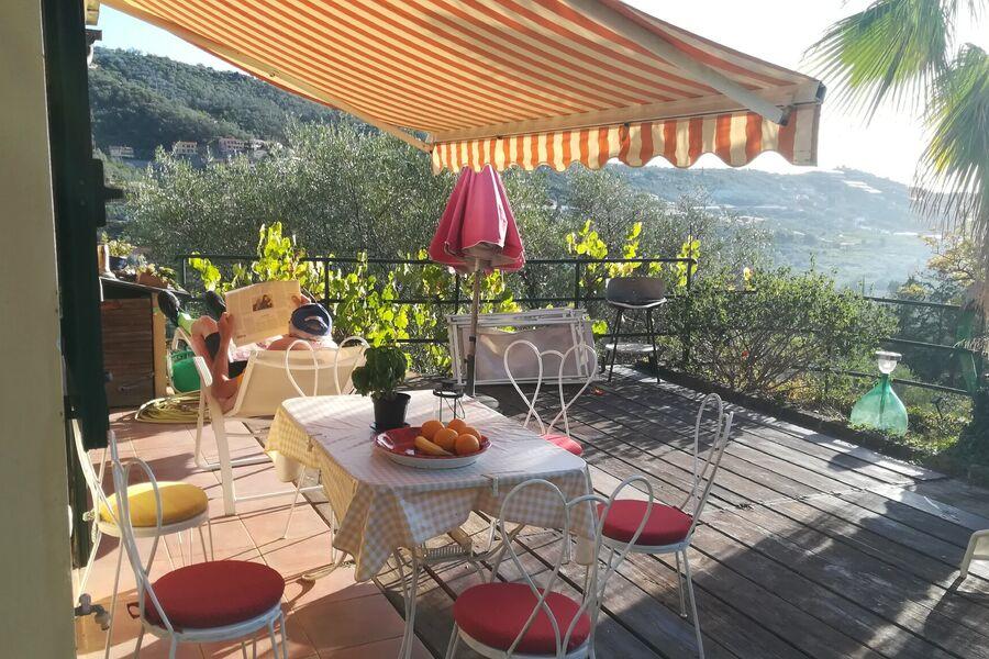 Terrasse mit Blick auf Isolalunga