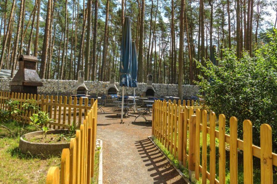 Zufahrt und Parkplatz