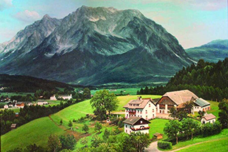 Lutzmann Hof      'Moar z´Winklern', Grimmingblick