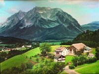 Lutzmann Hof      'Moar z´Winklern', Grimmingblick in Bergregion Grimming - kleines Detailbild