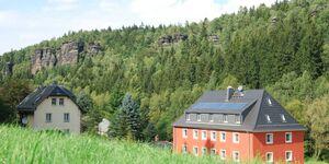 Felswelten, Felsengasse in Rosenthal-Bielatal - kleines Detailbild