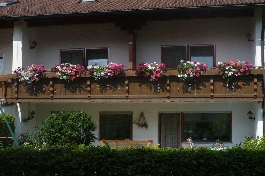 Ansicht Süd Gästehaus Keller