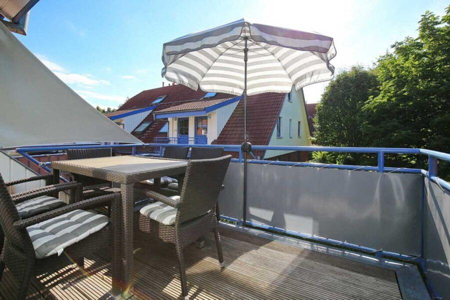 Balkon in Süd-West-Lage