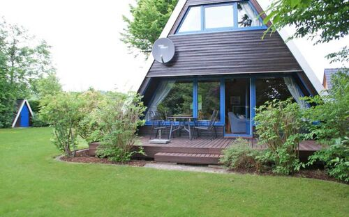 Zeltdachhaus mit W-LAN und grosser Terrasse, Zeltdachhaus