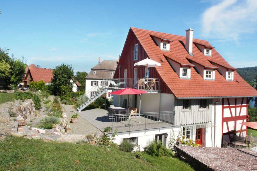 Landhausidylle am Bodensee, Dachgeschosswohnung mi
