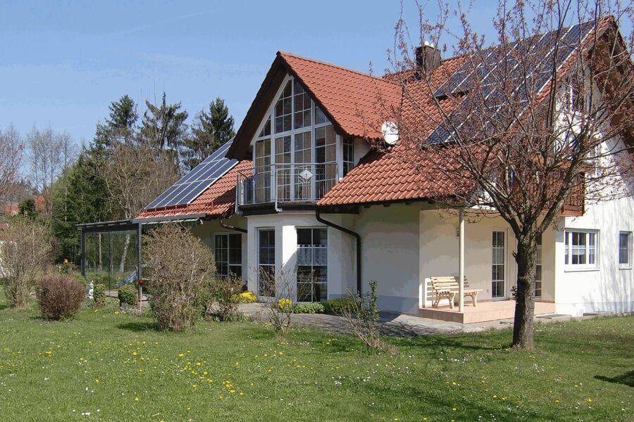 Aussenansicht Ferienhaus Naturblick
