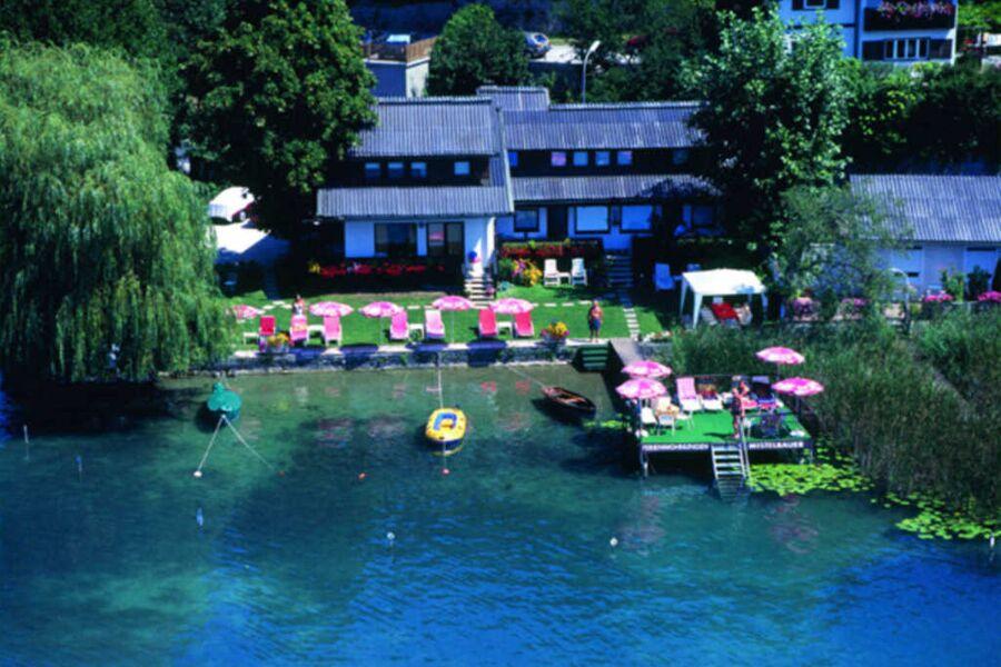 Ferienwohnungen Mistelbauer **** Luftaufnahme