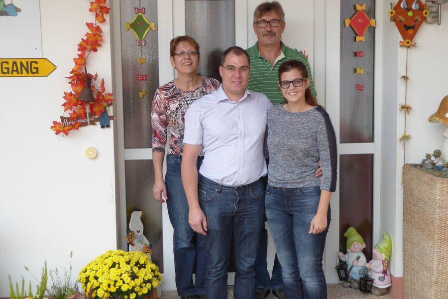 Gastfamilie Schell und Dürr