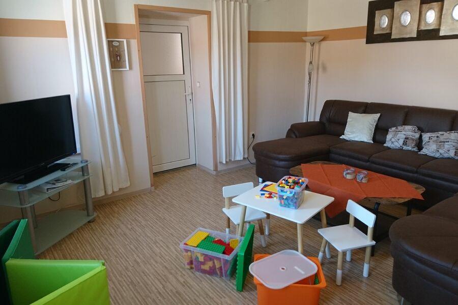 Wohnzimmer der FEWO Chef
