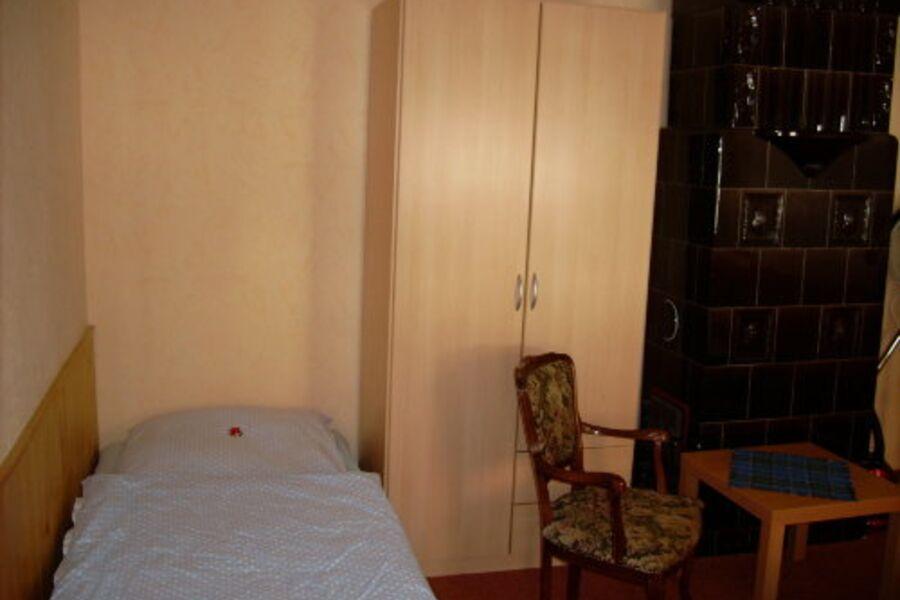 Schlafraum/ Einzelbett