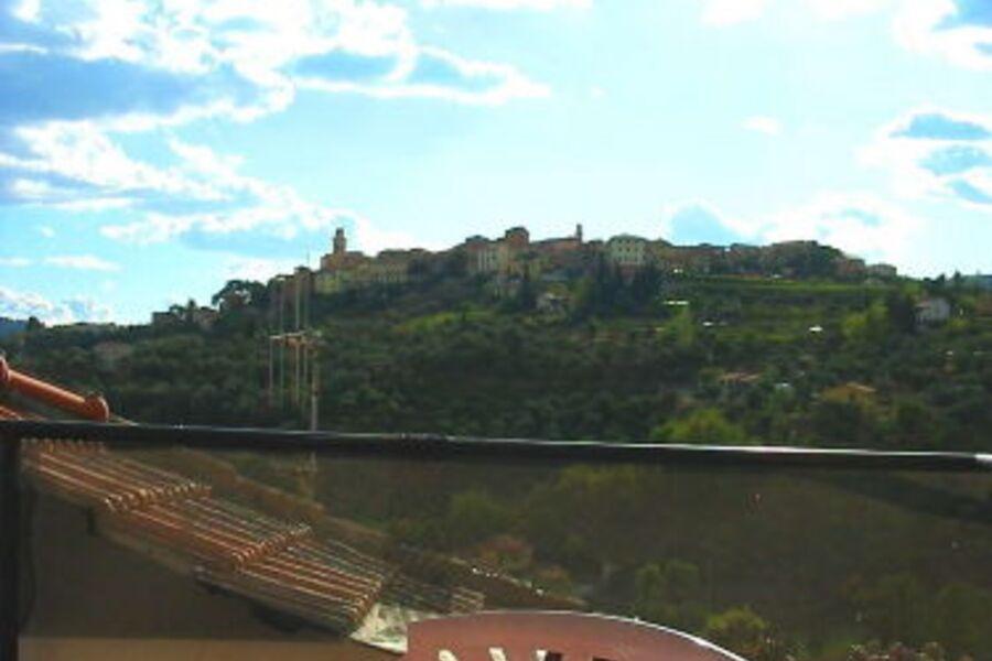 Terrasse mit Castelloblick