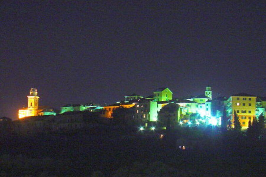 Schöne Aussicht auf Castello