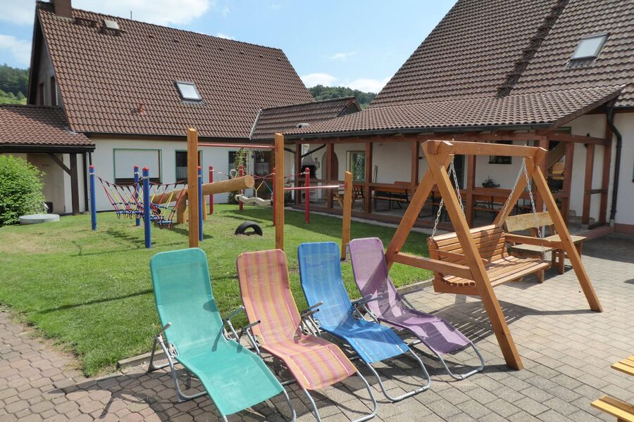 Terrasse Ferienhaus Hatschi