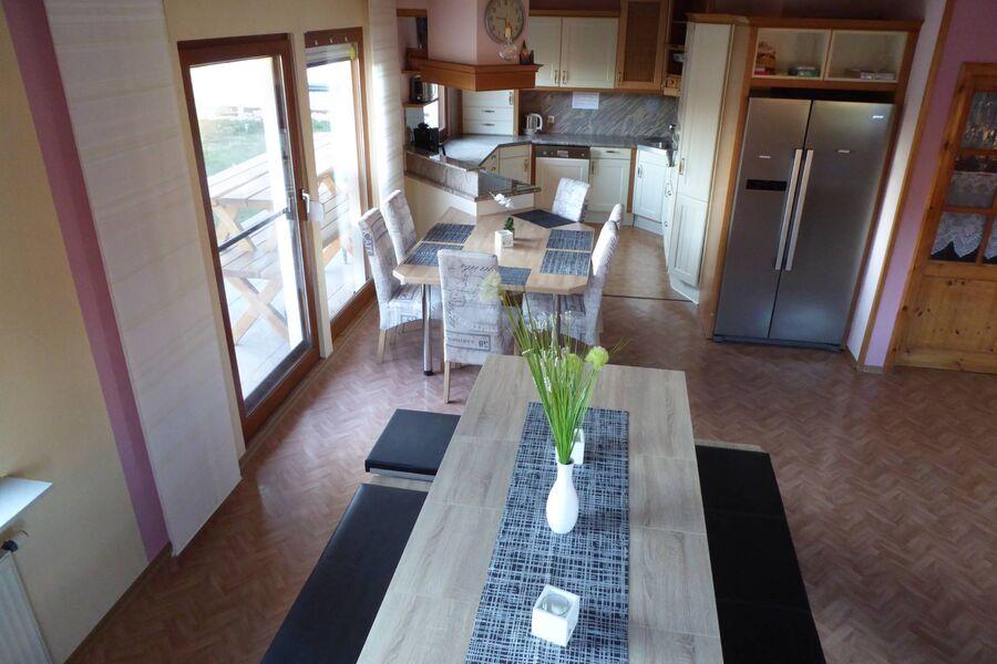 Wohzimmer Ferienhaus Hatschi