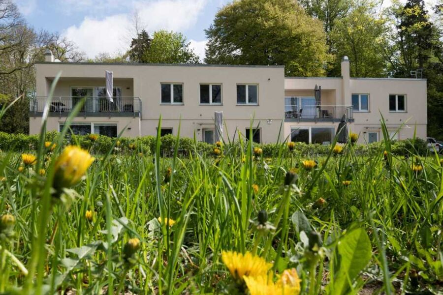 Das Haus Ingrid von außen
