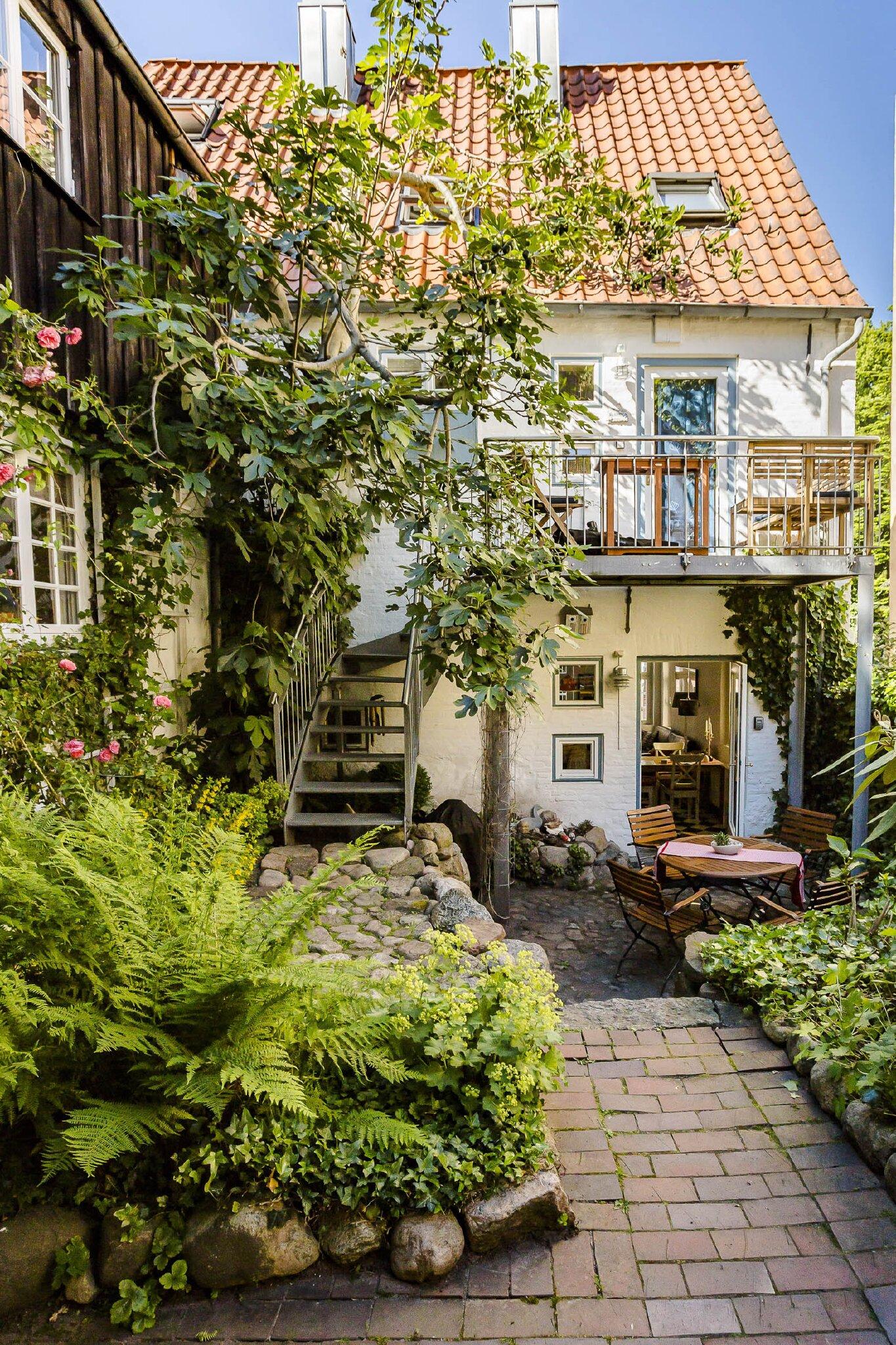 Haus Schlafgemach - Ferienwohnung Hofgarten in Flensburg Schleswig ...