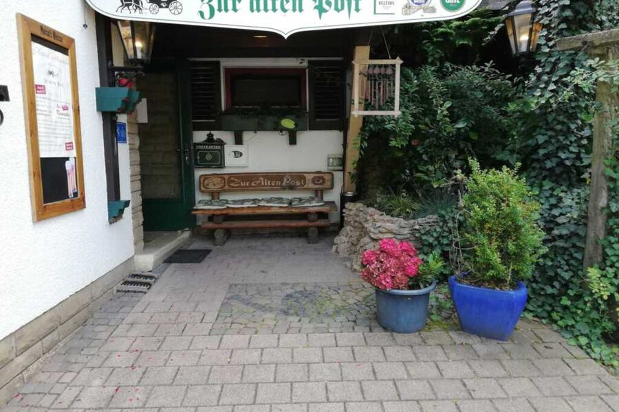 Eingangsbereich Hotel-Garni Zur alten Post