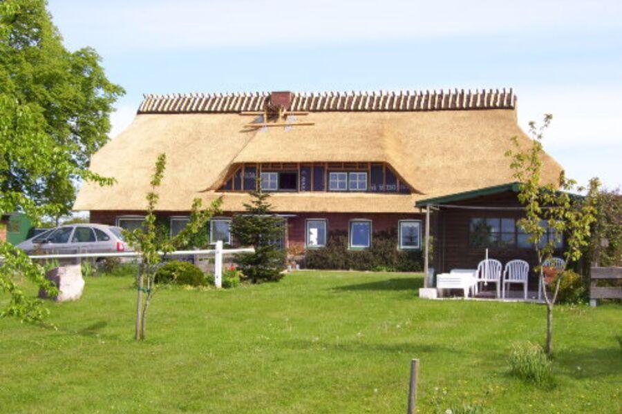 unser reetgedecktes Bauernhaus