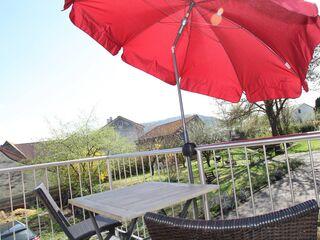 Ferienwohnung Tasch Nr. 2 mit Balkon und Schwanbergblick in Rödelsee - Deutschland - kleines Detailbild