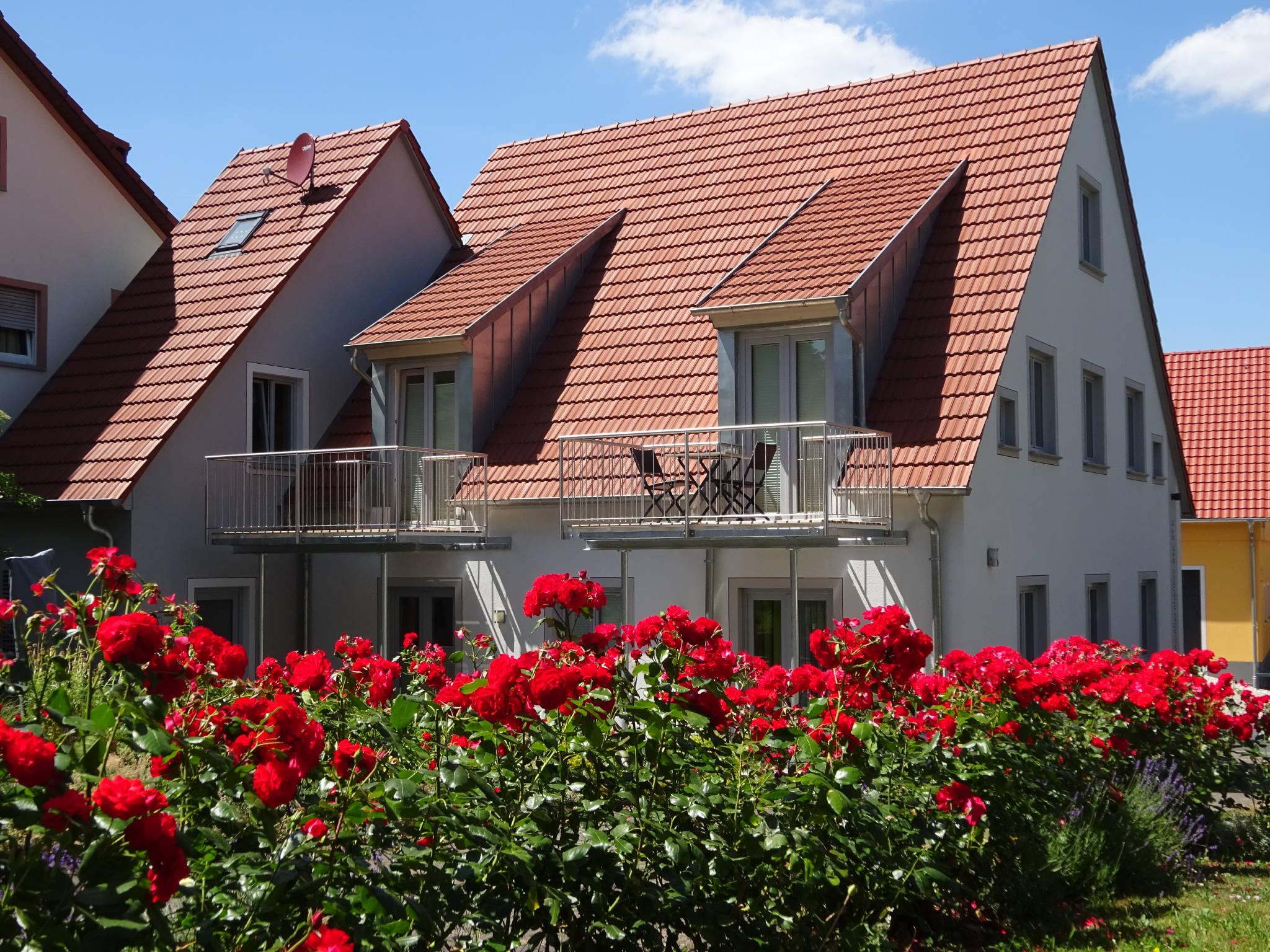 Ferienwohnung Tasch Nr. 3 mit Balkon und Schwanbergblick