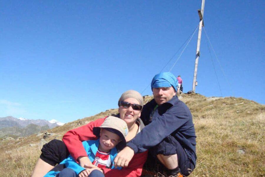Unsere Familie Peter und Daniela mit Sohn Lorenz