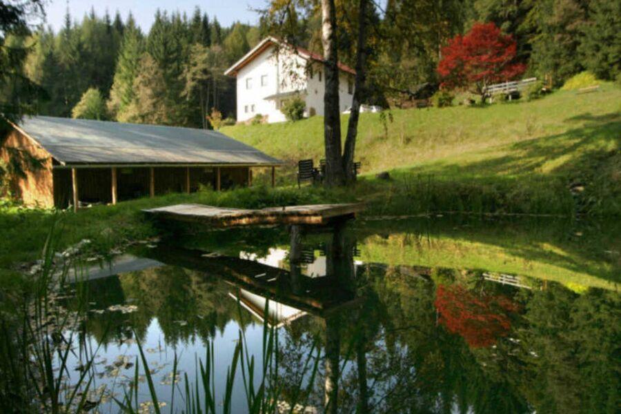 Ruheplatz am Teich