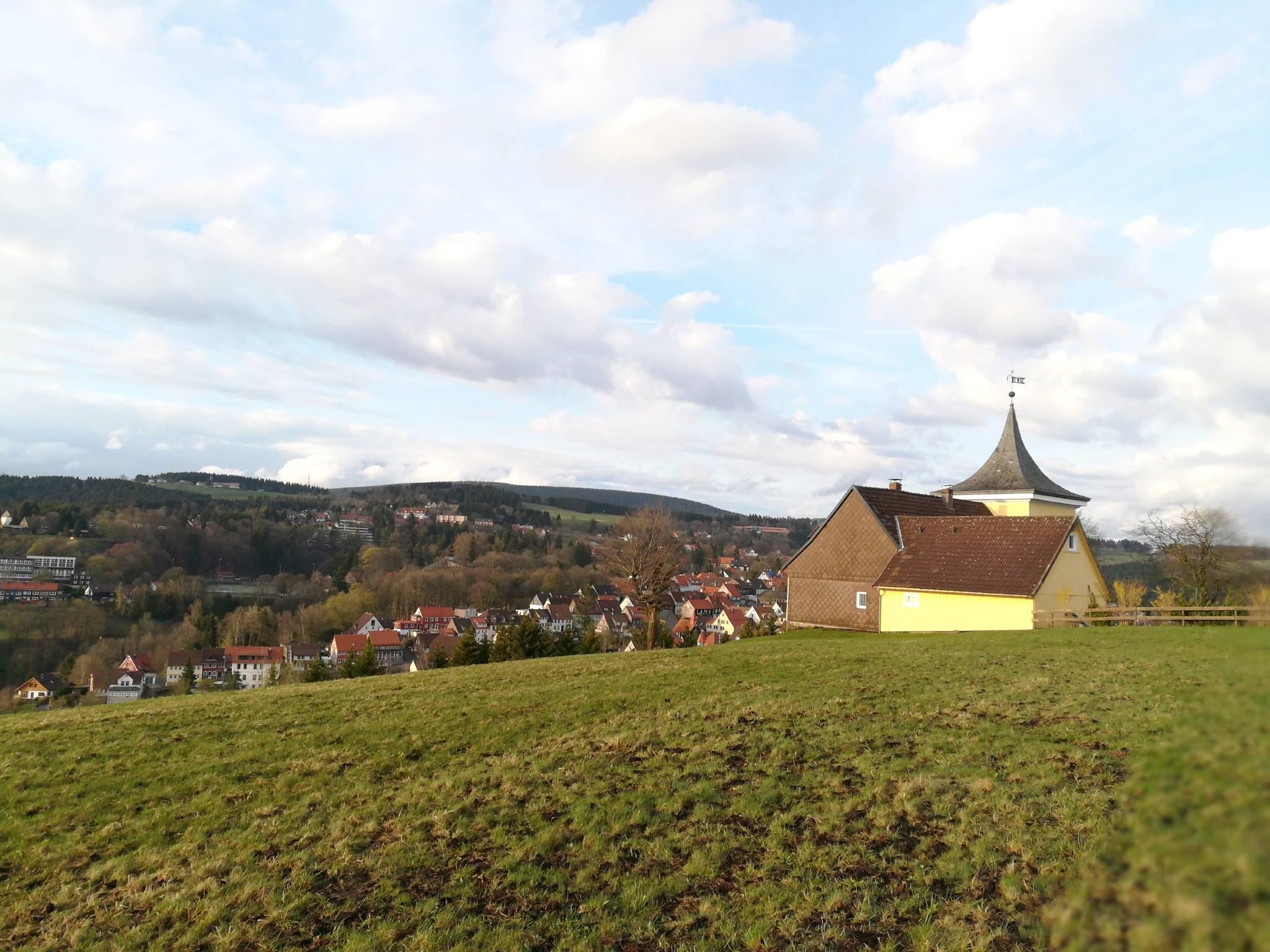 Blick auf St. Andreasberg