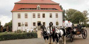 .Herrenhaus Kunzwerda bei Torgau, Ferienwohnung 'Ursula' online in Torgau - kleines Detailbild