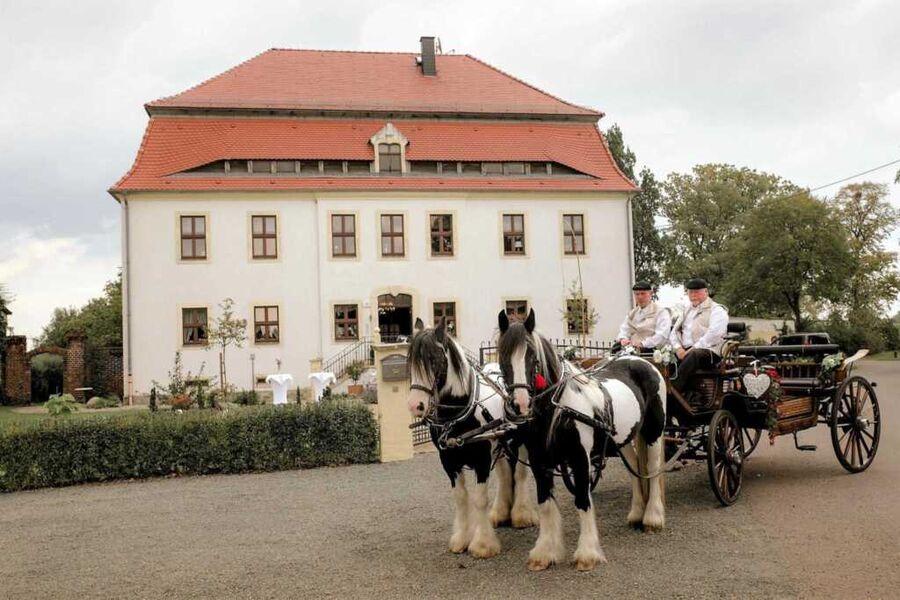 .Herrenhaus Kunzwerda bei Torgau, Ferienwohnung 'U